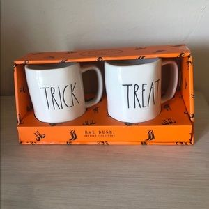 Rae Dunn Trick and Treat Mug Set